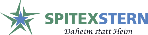 Privat Spitex Stern Logo farbig